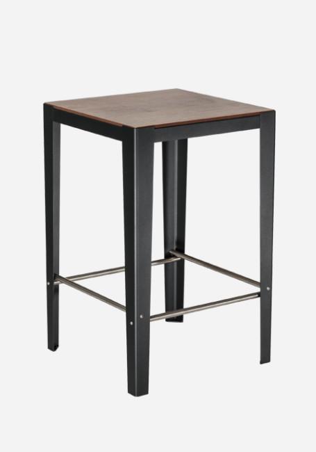 Table haute 2 ou 4 places solea mobilier urbain aubrilam for Mobilier table haute
