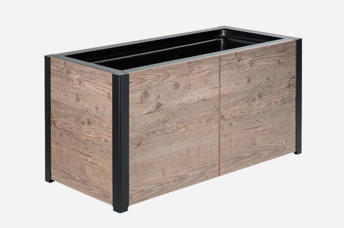 jardini re solea mobilier urbain aubrilam. Black Bedroom Furniture Sets. Home Design Ideas