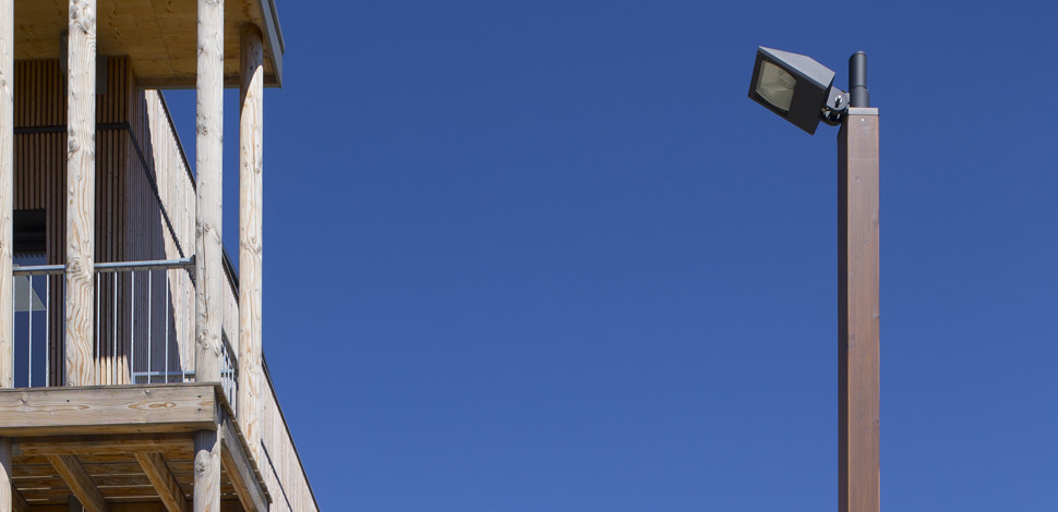 luminaire urbain utyl im 70w clairage r sidentiel. Black Bedroom Furniture Sets. Home Design Ideas
