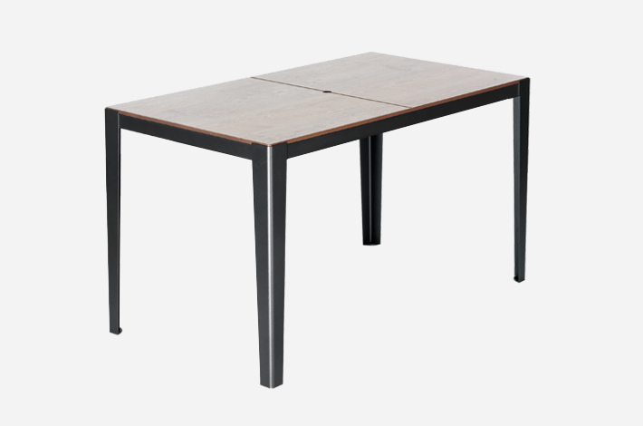 Table rectangle 4 places solea mobilier urbain aubrilam for Table 4 places