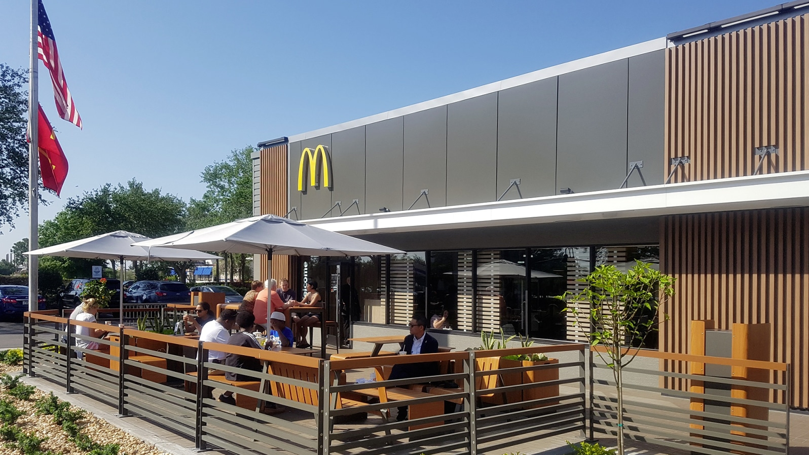 Aubrilam Involved With The Renovation Of The Mcdonalds Restaurants