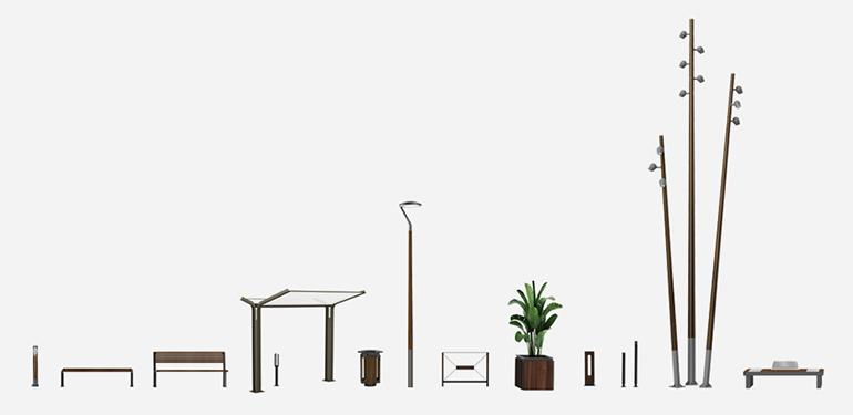 Ensemble 2 – Places urbaines et grands espaces