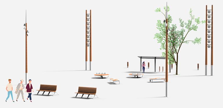 Ensemble 1 – Places urbaines et grands espaces